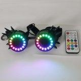 Pixel Pro LED Goggles Kaleidoscope Lenses Over 350 Modes Intense Lights