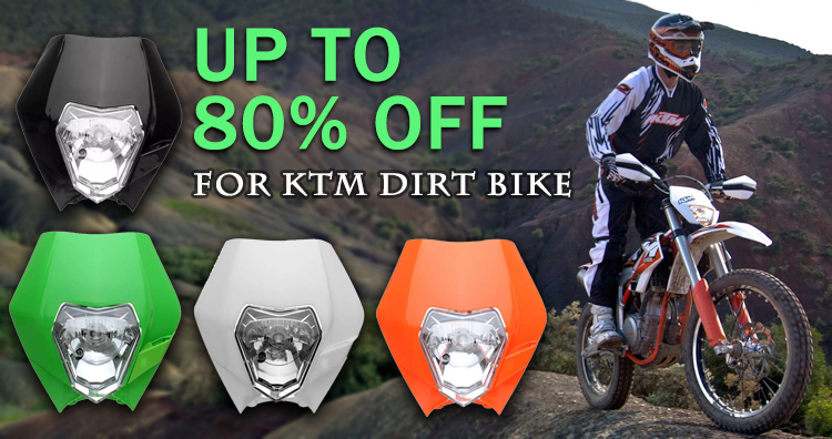 For KTM Dirt Bike Headlights