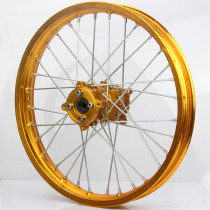 15mm hole hub 1.60 x 17  Rear CNC hub Aluminum Alloy Wheel Rims for dirt pit bike