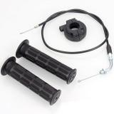 Handle Grip with Turn Throttle For ATV Dirt Pit Bike 50CC 70CC 90CC 110CC Parts
