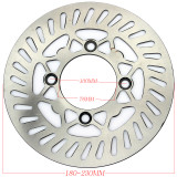 180-230mm Front Rear Brake Discs For CRF XR50CC 70CC 110CC 125CC 140CC 150CC Pit Dirt Bike