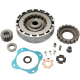 18 Teeth Manual Clutch Assembly Lifan Zongshen 110cc-125cc Chinese Dirt Pit Bike go kart