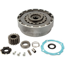 Motorcycle Clutch Assembly 17 Teeth C70 For Dayang DY100 ATV Pit Bike Spare Parts