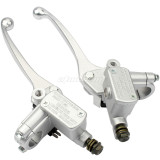 1pair Brake Master Cylinder Side With Mirror Thread For GY6 50 ATV DIRT PIT BIKE