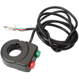 Horn Speaker Switch and Headlight Button for ebike Electric Scooter Bicycle Bike
