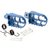 Universal Foot Pegs Footrests For Yamaha PW50 PW80 TW200 Honda XR/CRF Pit Dirt Bike