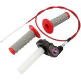 22mm 7/8 inch Throttle Housing Handlebar Grip Twist Cable For ATV Pit Dirt Bike