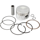 52.4mm Bore Piston Rings Assembly for 110cc Taotao Roketa Sunl Coolster SSR Dirt Bikes Go Karts ATV