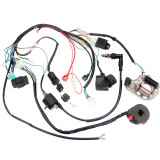 70cc 90cc 110cc CDI Wire Harness Assembly Wiring Kit For Pit Dirt ATV Electric Start QUAD Motorcycle