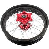350-17  CNC Wheels & Rims Set For Honda Honda CRF250R 2004-2013 CRF450R 2002-2012 Dirt Pit Bike