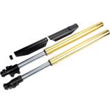 Gold Upside Down 45/48mm 790mm Front Forks Absorber Shocks For Dirt Pit ProTrail Bike SDG SSR (Gold)