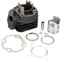 For YAMAHA JOG 50 Cylinder Top End Rebuild Kit 49cc 2 stroke Minarelli 1PE40QMB