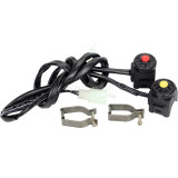 Kill/Stop Switch Compatible With Dirt Pit Bike Motorcycle ATV Button Dual Sport Dirt Bike