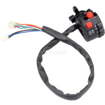 Handle Control Left Switch With Choke Lever 9 Wire 5 Function For Quad ATV Taotao Sunl Roketa Kazuma 110cc-250cc