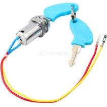 Ignition Switch Ignition Starter Switch with 2 Keys On-Off for Electric Scooter ATV Moped Go Kart