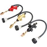 Rear Foot Brake Master Cylinder Pump For Motorcycle Go Kart ATV Dirt Pit Bike Parts