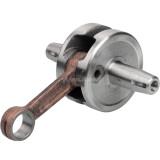 44-6 Full Circle Cranks Crankshaft For 2 Stroke 49Cc Pocket Bike Scooter Motor Mini Dirt Bike ATV