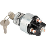 3 positions OFF / RUN / Start momentary key Universal Ignition Starter Switch Automobile