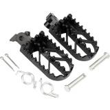 Iron Foot Pegs For Harley Honda Kawasaki Yamaha Suzuki KTM CRF XR Pit Dirt Bike Motorcycle Parts