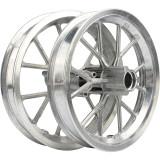 2PCS Aluminum 12 1/2 X 2.75 Tire Tube Rim Wheels Front & Rear Accessory Replacement For 49CC Mini Moto Dirt Bike Motorbikes