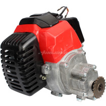 Complete 43cc 2 Stroke Engine Motor With Transmission Gearbox for Mini Pocket Bike Gas G-Scooter ATV Quad Bicycle
