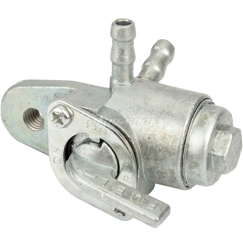 Quality 3 Way Petcock Fuel Tank Shut Off Valve for Motorcycle Dirt Bike ATV