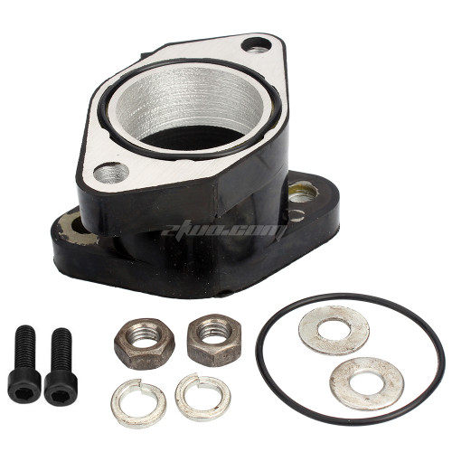 Intake Manifold Boot Joint Carburetor Fits for Yamaha Warrior 350 YFM350 1987-2004 1UY-13586-02-00