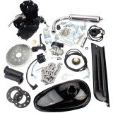 50cc (F50) 2-Stroke Cycle Motorized Bike Black Body Engine Motor Bicycle Scooter Kit