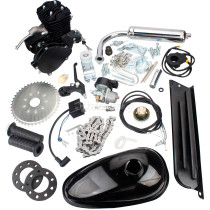 50cc (F50) 2-Stroke Cycle Motorized Bike Black Body Engine Motor Bicycle Scooter Kit