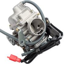 24MM Carburetor Carb 110 125 150cc For ATV Go Kart Roketa Quad GY6 Scooter Moped