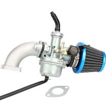 PZ22 22mm Carburetor Carb Air Filter for 110cc 125cc CRF SSR Sunl Taotao Pit Dirt Bike ATV Buggy Blue