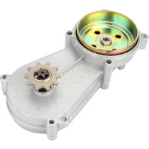 NEW Transmission Gear Box For 49CC 60CC 80CC 2/4-Stroke Engine Motorized Bicycle Bike Ues 415 Chain 10T