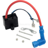 Blue 49cc 66cc 80cc Magneto Ignition Coil For Engine Motorized Bicycle Bike