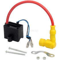 Yellow 49cc 60cc 80cc Magneto Ignition Coil For Engine Motorized Bicycle Bike High Performance