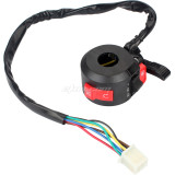 3 Function 7 Wire 7/8'' 22mm Kill Start Light Choke Switch For ATV Quad 4 Wheeler Taotao Sunl Roketa Kazuma 50cc 70cc 90cc 110cc 125cc