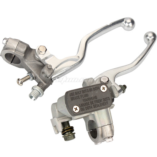 Brake Master Cylinder Clutch Lever for Honda CRF250 04-14 CRF450 02-14 Pit Dirt Bike