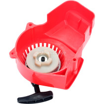 RED Plastic Easy Pull Starter Recoil For 49cc Mini 2 Stroke Pocket Bikes ATV Quad Dirt Bike Scooter