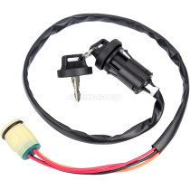 Motorcycle ATV Ignition Key Switch Start Engine Lock for Honda TRX420 Rancher 07-11 TRX450 Foreman 02-04
