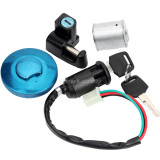 Ignition Switch Gas Cap Helmet Seat Lock Key Fit For Monkey Z50 50A Z50J Z50R Mini