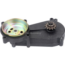 Black 11T Transmission Clutch Gear Reduction Box For 47cc 49cc 2 Stroke Pocket Mini Dirt Pit Bike Scooter ATV TaoTao Buyang Coolsport Kazuma Sunl Roketa