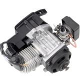 47cc 49cc 2 Stroke Plastic Pull Start Engine Motor For Mini Pocket Dirt Bike ATV Scooter - Black