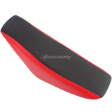 Flat Tall Foam Seat Red For 50cc 70cc 90cc 110cc 125cc 140cc Chinese Apollo Style Pit Pro Trail Dirt Bike