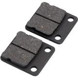 Disc Brake Shoes Pads For ATV Quad Dirt Pit Bike Go Kart Dune Buggy 50cc 70cc 110cc 150cc 250cc Motorcycle - Black