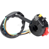 Left Start Switch Assembly for 50CC 70CC 90CC 110CC 125CC 150CC GY6 ATVs Quad Dirt Bikes Go Karts 4 Wheelers Taotao SunL Coolster