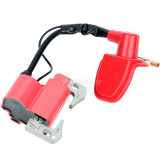 Coil Ignition For Spark Plug CAP For Minimoto ATV Dirt Pit bike MOTO QUAD 49CC 47CC Motorcycle - Red