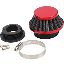 42mm Air filter Cleaner Kit For 47cc 49cc Mini Moto 2-Stroke Engine Motorcycle ATV Quad Scooter Go Kart Moped Pit Dirt Pocket Bike - Red