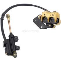 Hydraulic Rear Disc Brake Caliper System For  50cc 70cc 90cc 110cc 125cc For CRF50 XR50 ATV QUAD Bike Go Kart Buggy Motorcycle