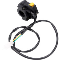 Engine Stop Start Kill Switch Button with 2 Wires Harness For XR50 CRF50 Dirt Pit Bike ATV Quad Go Kart 4 Wheel