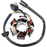 Ignition Stator Magneto 6 wire AC 6 Pole Coil for GY6 49cc - 180cc engine Scooter Moped ATV Dune Buggy Go Kart