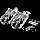 Stainless Steel Foot Pegs For Harley Honda Kawasaki Yamaha Suzuki KTM CRF XR Dirt Bike Motorcycle Parts